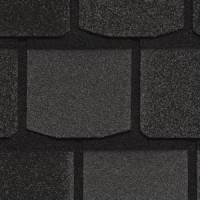 Гибкая черепица CertainTeed HIGHLAND SLATE (Black Granite) /1 кв.м/